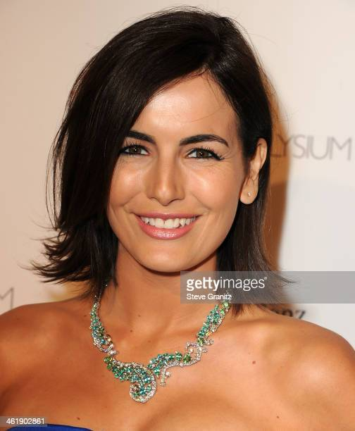 Camilla Belle arrives at the The Art of Elysium's 7th Annual HEAVEN Gala Presented By MercedesBenz on January 11 2014 in Los Angeles California