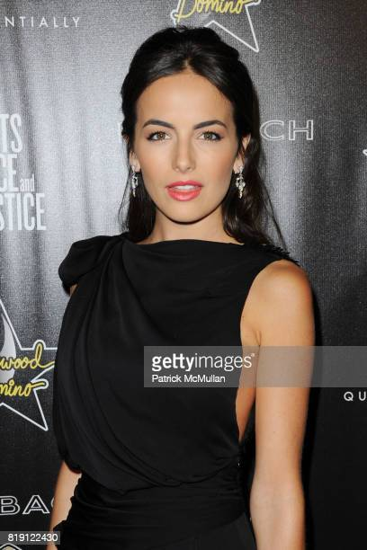 Camilla Belle attends 3rd Annual PreOscar Hollywood DOMINO Gala Benefiting Artists for Peace and Justice at BAR 210 on March 4 2010 in Beverly Hills...