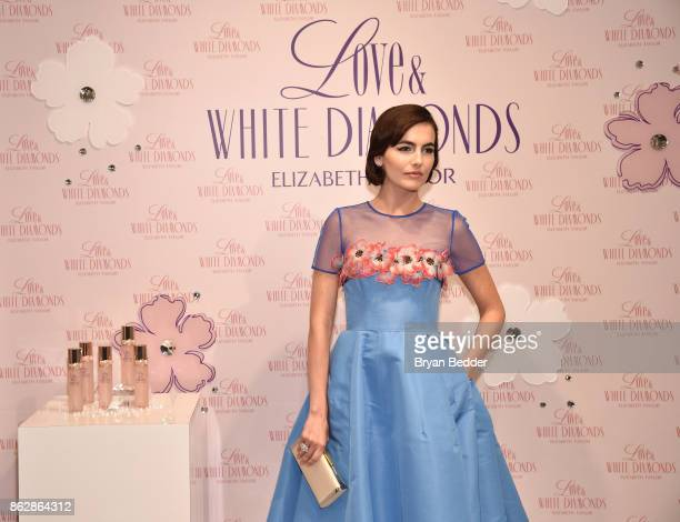 Camilla Belle attends Actress Camilla Belle CoHosts Elizabeth Taylor Love White Diamonds New Fragrance Launch on October 17 2017 in New York City