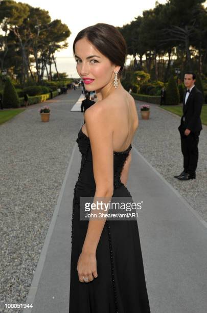 Camilla Belle attends amfAR's Cinema Against AIDS 2010 benefit gala cocktail reception at the Hotel du Cap on May 20 2010 in Antibes France
