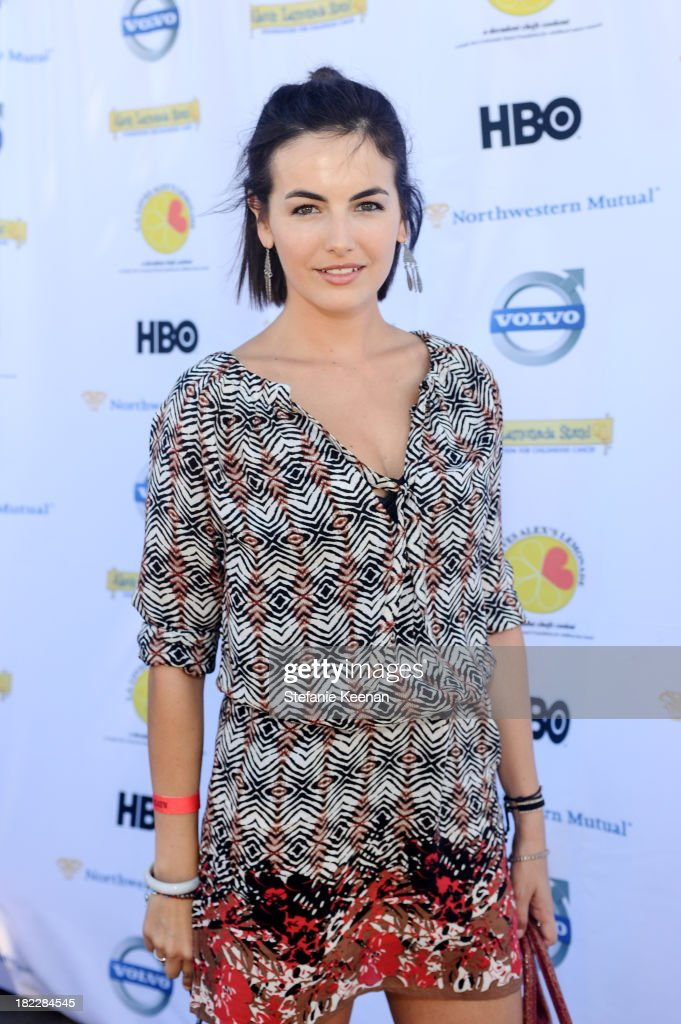 <a gi-track='captionPersonalityLinkClicked' href=/galleries/search?phrase=Camilla+Belle&family=editorial&specificpeople=210585 ng-click='$event.stopPropagation()'>Camilla Belle</a> attends LA Loves Alex's Lemonade event at Culver Studios on September 28, 2013 in Culver City, California.