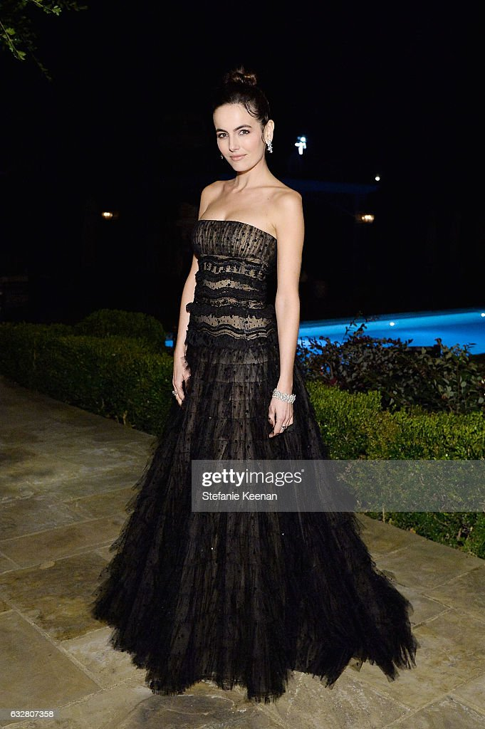 Camilla Belle attends PSLA partners with Carolina Herrera for Winter Gala on January 26, 2017 in Beverly Hills, California.