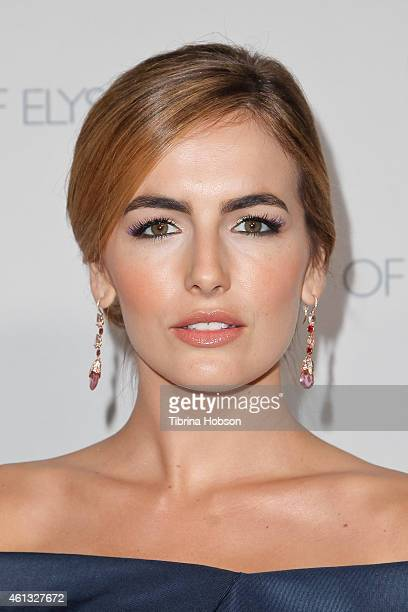 Camilla Belle attends the Art of Elysium and Samsung Galaxy Marina Abramovic's HEAVEN Gala at Hangar 8 on January 10 2015 in Santa Monica California