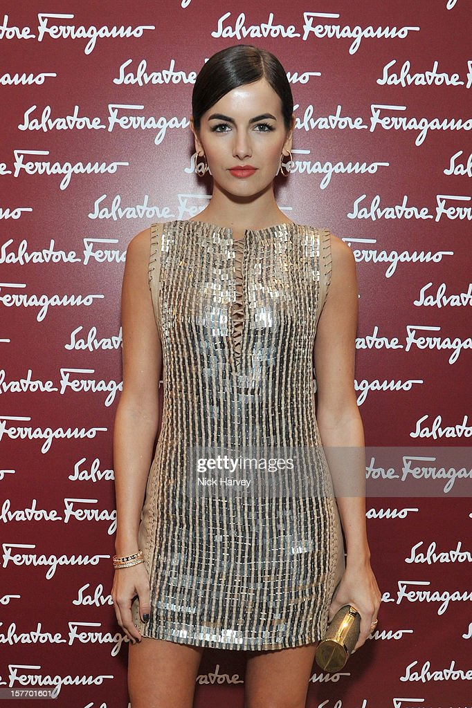 Camilla Belle attends the flagship store launch of Salvatore Ferragamo's Old Bond Street Boutique at 24 Old Bond Street on December 5, 2012 in London, England.