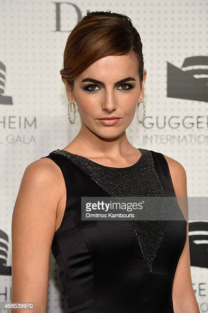 Camilla Belle attends the Guggenheim International Gala Dinner made possible by Dior on November 6 2014 in New York City