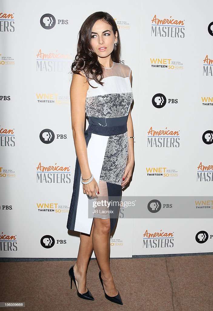 Camilla Belle attends the 'Inventing David Geffen' Los Angeles Premiere held at Writer's Guild Theater on November 13, 2012 in Los Angeles, California.