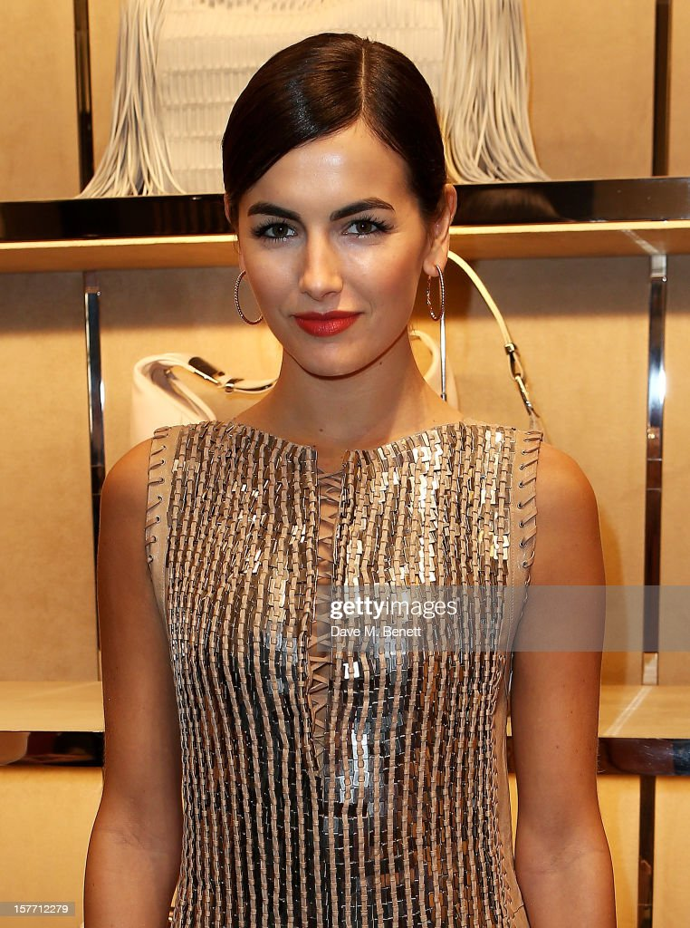 Camilla Belle attends the launch of the Salvatore Ferragamo London Flagship Store on Old Bond Street on December 5, 2012 in London, England.