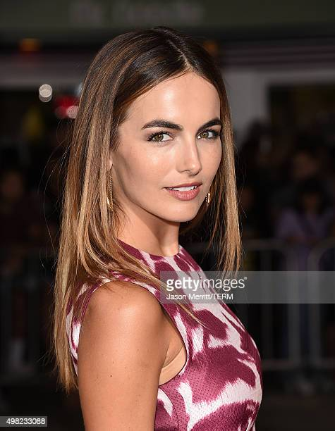 Camilla Belle attends the premiere of Focus Features' 'The Danish Girl' at Westwood Village Theatre on November 21 2015 in Westwood California