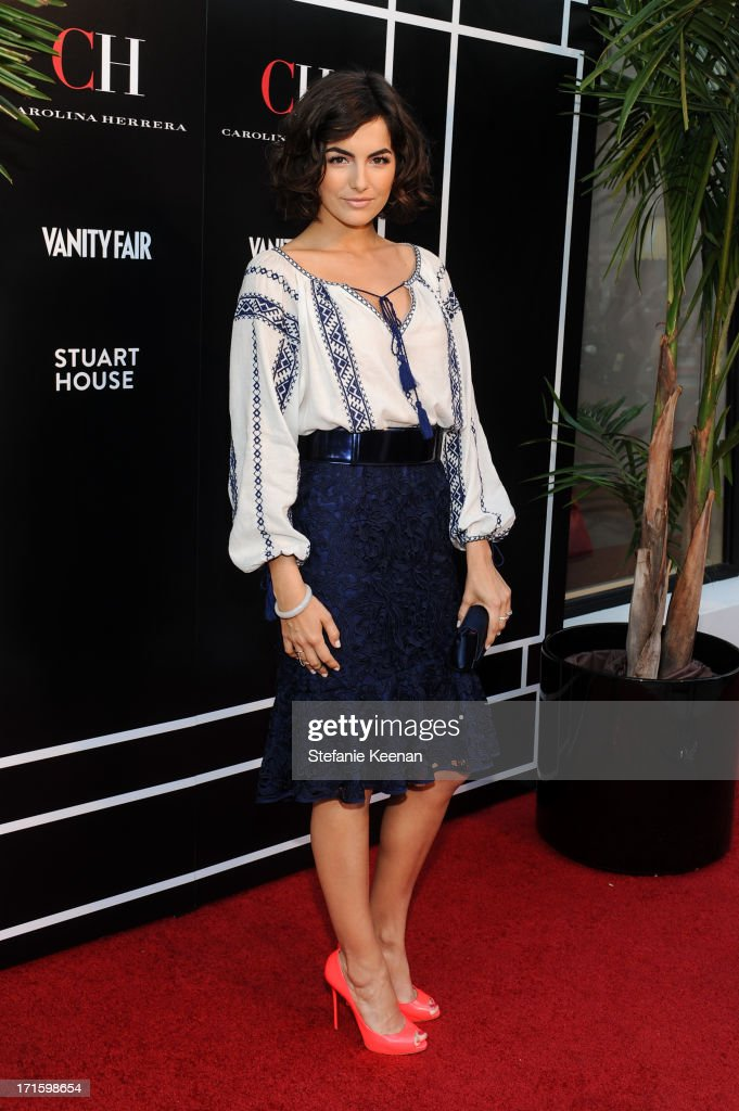<a gi-track='captionPersonalityLinkClicked' href=/galleries/search?phrase=Camilla+Belle&family=editorial&specificpeople=210585 ng-click='$event.stopPropagation()'>Camilla Belle</a> attends the Vanity Fair and CH Carolina Herrera celebration of the opening of the CH Carolina Herrera Boutique on Rodeo Drive at Carolina Herrera Boutique on June 26, 2013 in Los Angeles, California.