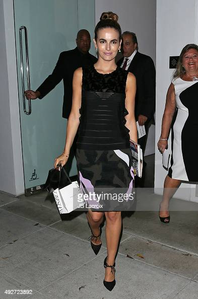 Camilla Belle attends the West Coast Launch of Women's Brain Health Initiative on October 14 2015 in Beverly Hills California