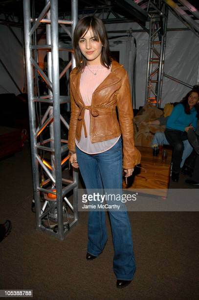 Camilla Belle during 2005 Park City 'Chumscrubber' Party Hosted by Philips at Village at the Lift in Park City Utah United States