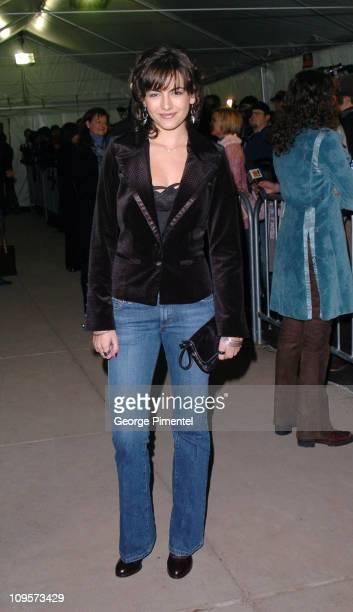 Camilla Belle during 2005 Sundance Film Festival 'The Ballad of Jack and Rose' Premiere at Eccles Theatre in Park City Utah United States