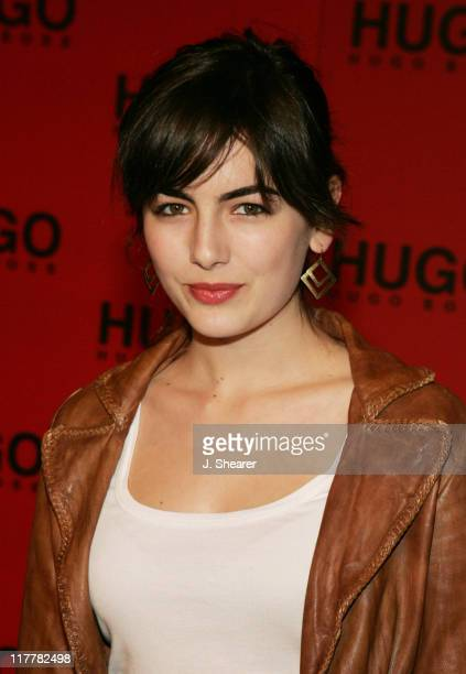Camilla Belle during Hugo Boss Fall Winter 2005 Men's and Women's Collections Party and Fashion Show Arrivals at The Beverly Hills Hotel in Beverly...