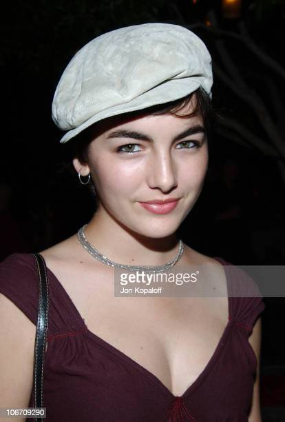 Camilla Belle during Ingenue Magazine Launch Party Inside at The Sky Bar At The Mondrian Hotel in West Hollywood California United States