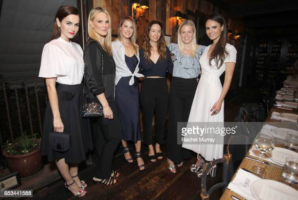 Camilla Belle Molly Sims Ali Larter Jenni Kayne Jessie Randall and Jordana Brewster attend as Jenni Kayne Loeffler Randall celebrate PopUp at AOC...