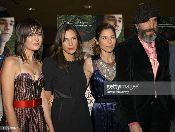 Camilla Belle Rebecca Miller director Catherine Keener and Daniel DayLewis