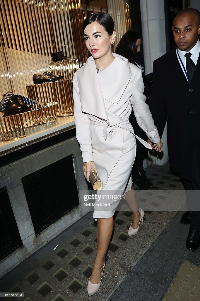 Camilla Belle sighting on December 5, 2012 in London, England.