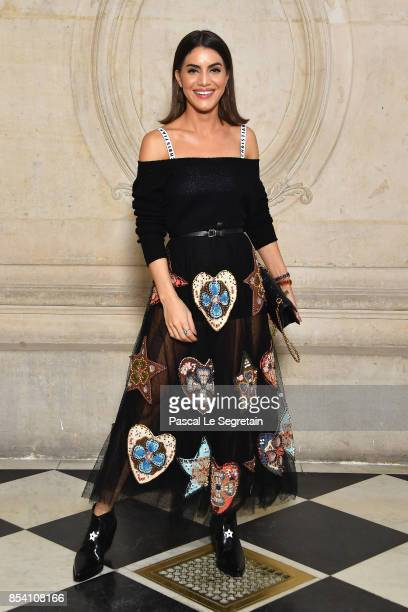 Camilla Coelho attends the Christian Dior show as part of the Paris Fashion Week Womenswear Spring/Summer 2018 on September 26 2017 in Paris France