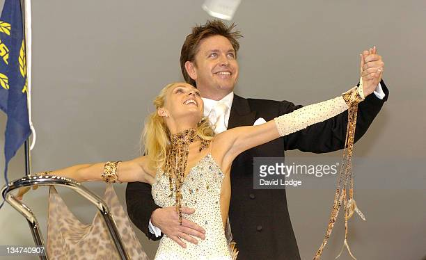 Camilla Dallerup and James Martin during Schroders London International Boat Show Photocall January 6 2006 at ExCeL in London Great Britain