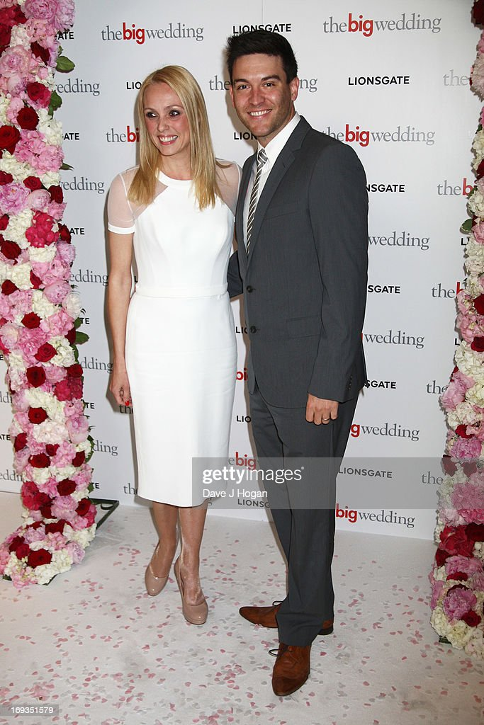 Camilla Dallerup attends a special screening of 'The Big Wedding' at The Mayfair Hotel on May 23, 2013 in London, England.