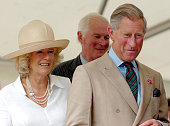 HRH Camilla Duchess of Cornwall and HRH Prince of Wales visit to the Sandringham Flower Show at Sandringham July 26 2006