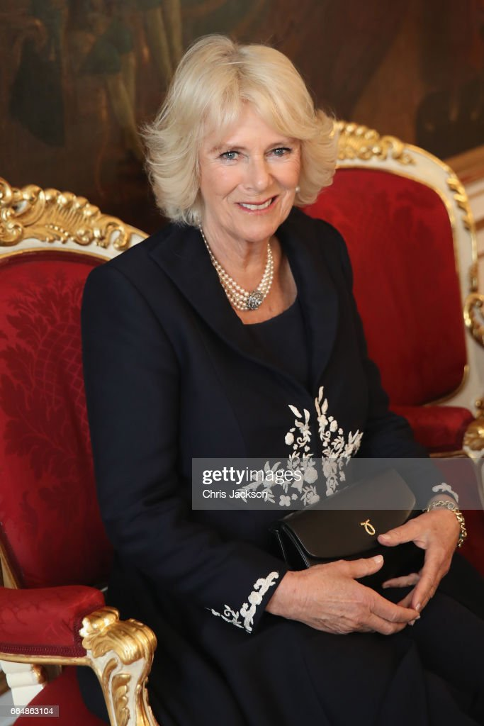 Camilla, Duchess of Cornwall and Prince Charles, Prince of Wales visit Hofburg Palace on April 5, 2017 in Vienna, Austria. Her Royal Highness will accompany the First Lady, Doris Schmidauer, on a tour of the presidential apartments whilst His Royal Highness and the Federal President, Alexander Van der Bellen, hold a bilateral discussion with the Austrian and British delegations.