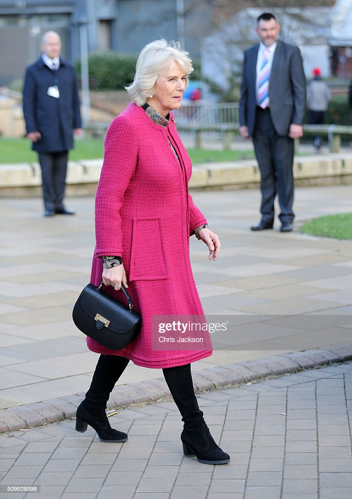 <a gi-track='captionPersonalityLinkClicked' href=/galleries/search?phrase=Camilla+-+Duchess+of+Cornwall&family=editorial&specificpeople=158157 ng-click='$event.stopPropagation()'>Camilla</a>, Duchess Of Cornwall at the University Of Southampton where she is to be awarded an Honourary Doctorate on February 11, 2016 in Southampton, England.
