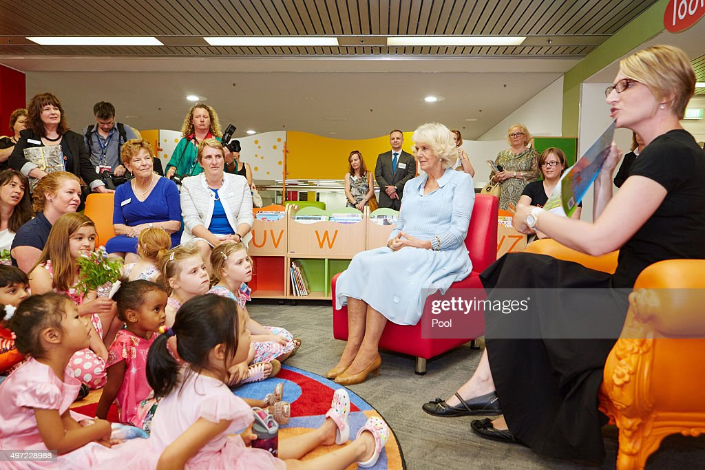 The prince of wales duchess of cornwall visit australia for Pool show perth 2015