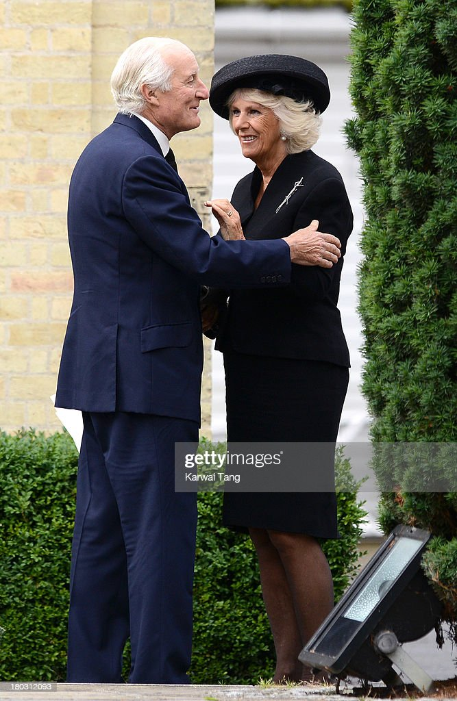 <a gi-track='captionPersonalityLinkClicked' href=/galleries/search?phrase=Camilla+-+Duchess+of+Cornwall&family=editorial&specificpeople=158157 ng-click='$event.stopPropagation()'>Camilla</a>, Duchess of Cornwall attends a Requiem Mass for Hugh van Cutsem who passed away on September 2nd 2013 at Brentwood Cathedral on September 11, 2013 in Brentwood, England.