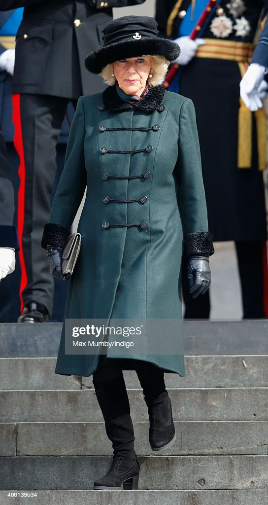 Camilla, Duchess of Cornwall attends a Service of Commemoration to mark the end of combat operations in Afghanistan at St Paul's Cathedral on March 13, 2015 in London, England.