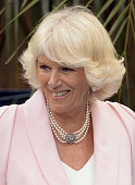 Camilla Duchess of Cornwall attends a Sustainability Fair at the Ambassador's Residence on October 29 2014 in Bogota Colombia The Royal Couple are on...