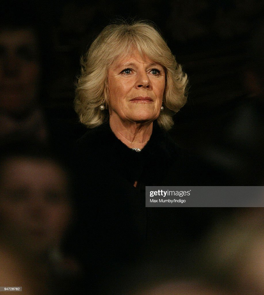 HRH <a gi-track='captionPersonalityLinkClicked' href=/galleries/search?phrase=Camilla+-+Hertiginna+av+Cornwall&family=editorial&specificpeople=158157 ng-click='$event.stopPropagation()'>Camilla</a> Duchess of Cornwall attends The London International Horse Show, at Olympia, on December 17, 2009 in London, England.