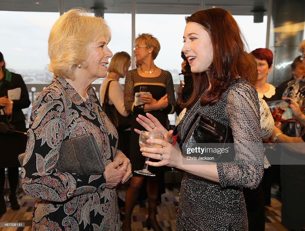 <a gi-track='captionPersonalityLinkClicked' href=/galleries/search?phrase=Camilla+-+Duchess+of+Cornwall&family=editorial&specificpeople=158157 ng-click='$event.stopPropagation()'>Camilla</a>, Duchess of Cornwall chats with singer <a gi-track='captionPersonalityLinkClicked' href=/galleries/search?phrase=Hayley+Westenra&family=editorial&specificpeople=215409 ng-click='$event.stopPropagation()'>Hayley Westenra</a> as they celebrate success of New Zealand women in the UK on Waitangi day at New Zealand House on February 6, 2014 in London, England. Waitangi Day commemorates the signing of a treaty between 500 Maori Chiefs and the British Crown in 1840.