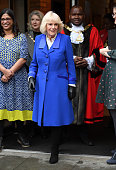 The Duchess Of Cornwall Visits Brent, The London 2020...