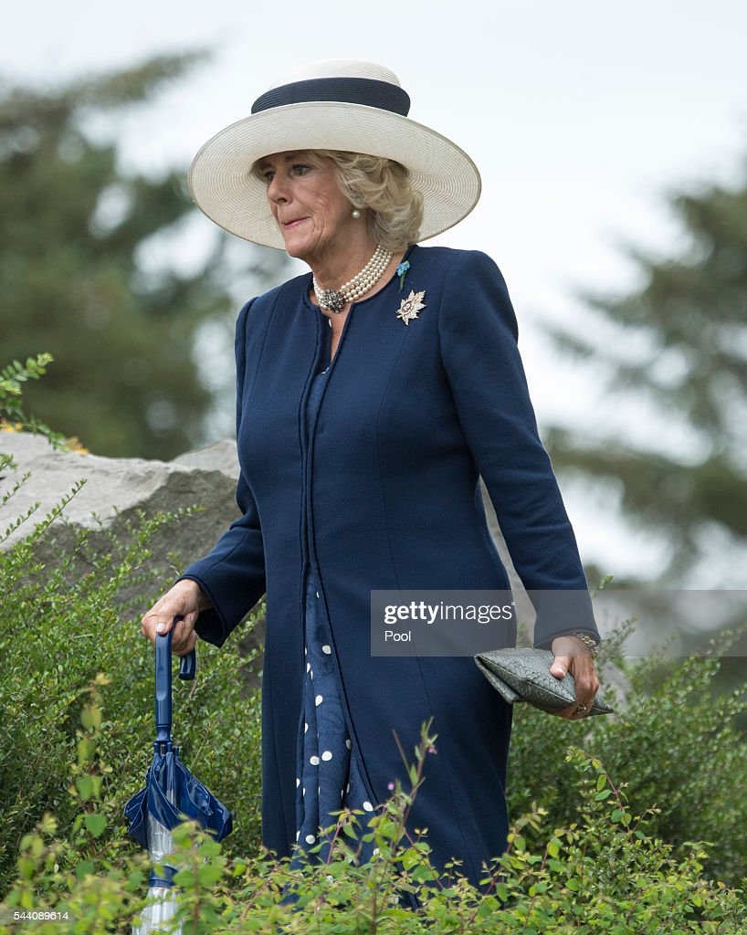 <a gi-track='captionPersonalityLinkClicked' href=/galleries/search?phrase=Camilla+-+Duchess+of+Cornwall&family=editorial&specificpeople=158157 ng-click='$event.stopPropagation()'>Camilla</a>, Duchess of Cornwall during the Commemoration of the Centenary of the Battle of the Somme at the Commonwealth War Graves Commission Thiepval Memorial on July 1, 2016 in Thiepval, France. The event is part of the Commemoration of the Centenary of the Battle of the Somme at the Commonwealth War Graves Commission Thiepval Memorial in Thiepval, France, where 70,000 British and Commonwealth soldiers with no known grave are commemorated.