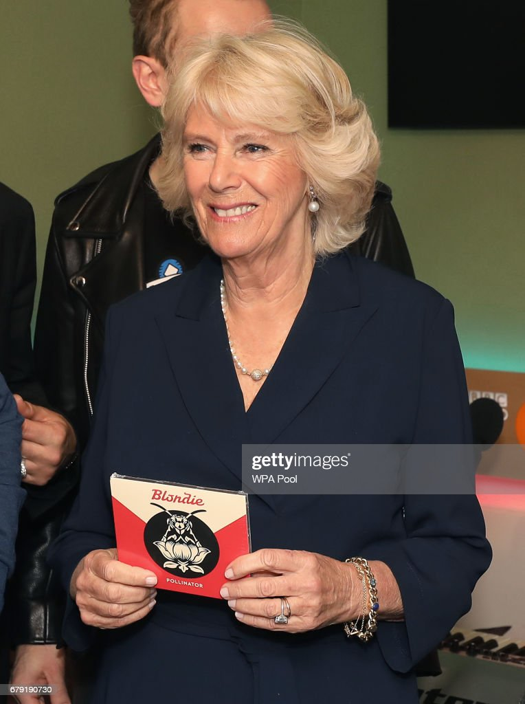 Camilla, Duchess of Cornwall joins the '500 Word' judging panel, a creative writing competition, at BBC Radio 2 Studios on May 4, 2017 in London, England.