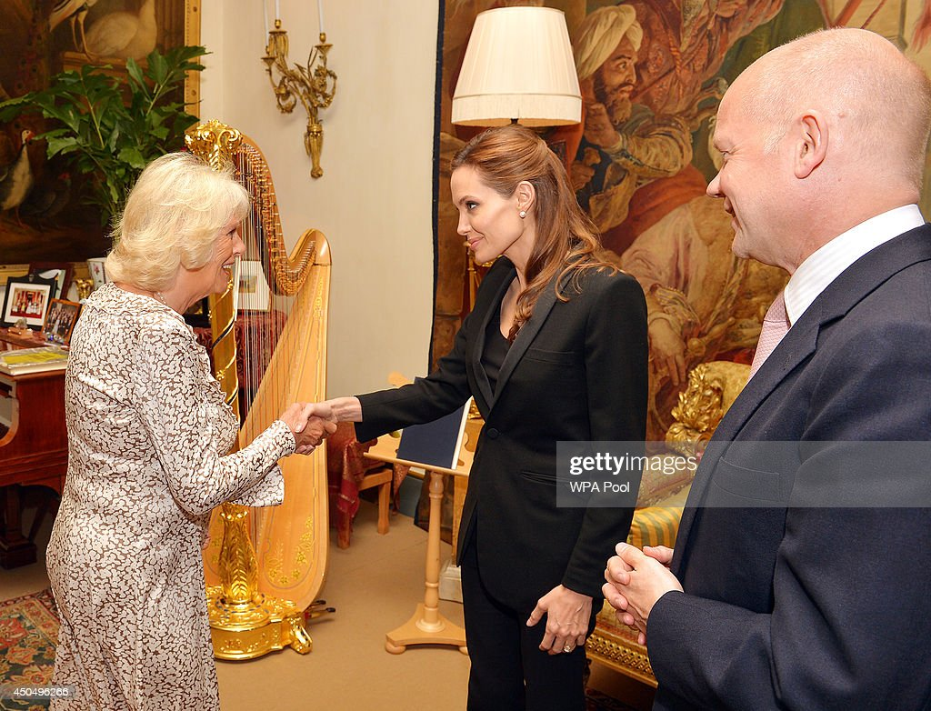 Camilla Duchess Of Cornwall Hosts A Private Meeting With