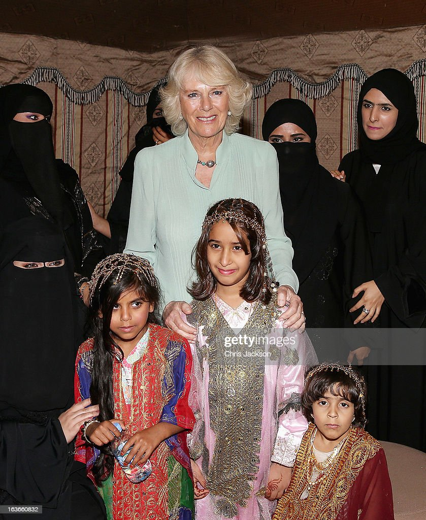<a gi-track='captionPersonalityLinkClicked' href=/galleries/search?phrase=Camilla+-+Duchess+of+Cornwall&family=editorial&specificpeople=158157 ng-click='$event.stopPropagation()'>Camilla</a>, Duchess of Cornwall poses with women from Vodafone's Al Johara Project at the Qatar Science and Technology Park on the fourth day of a tour of the Middle East on March 14, 2013 in Doha, Qatar. The Royal couple are on the second leg of a tour of the Middle East taking in Qatar, Saudia Arabia and Oman.