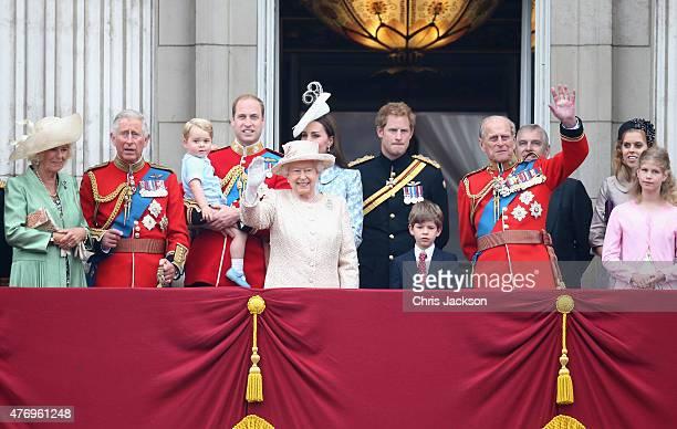 Camilla Duchess of Cornwall Prince Charles Prince of Wales Prince George of CambridgePrince William Duke of Cambridge Catherine Duchess of Cambridge...