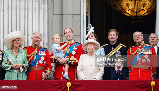 Camilla Duchess of Cornwall Prince Charles Prince of Wales Prince William Duke of Cambridge Prince George of Cambridge Catherine Duchess of Cambridge...