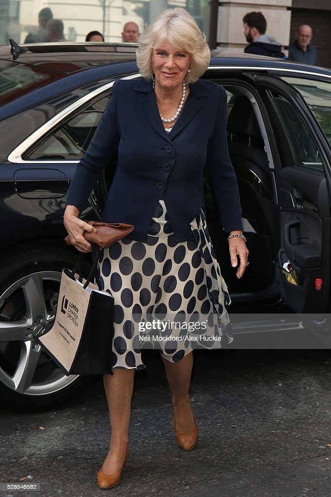 <a gi-track='captionPersonalityLinkClicked' href=/galleries/search?phrase=Camilla+-+Duchess+of+Cornwall&family=editorial&specificpeople=158157 ng-click='$event.stopPropagation()'>Camilla</a>, Duchess of Cornwall seen at BBC Radio 2 on May 06, 2016 in London, England.