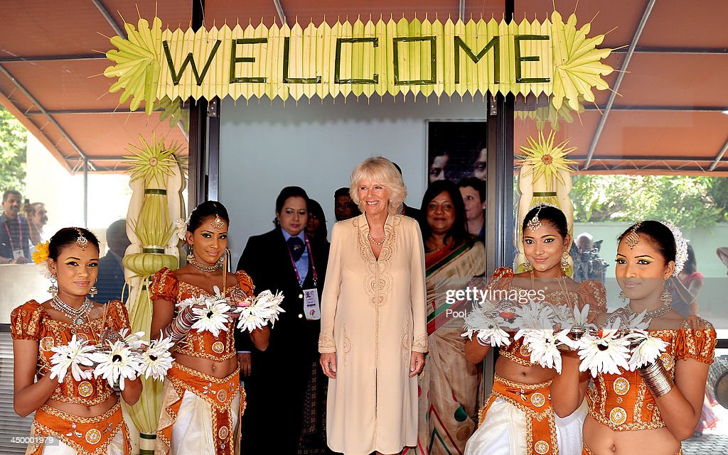 <a gi-track='captionPersonalityLinkClicked' href=/galleries/search?phrase=Camilla+-+Duchess+of+Cornwall&family=editorial&specificpeople=158157 ng-click='$event.stopPropagation()'>Camilla</a>, Duchess of Cornwall visits a Women in need centre, during Day 3 of a visit to Sri Lanka on November 16, 2013 in Colombo, Sri Lanka. The Royal couple are visiting Sri Lanka in order to attend the 2013 Commonwealth Heads of Government Meeting.Prince Charles, representing the Queen will open the meeting.