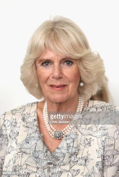 Camilla Duchess of Cornwall visits Herculaneum Archaeological Site and the Boat Pavillion to view artefacts excavated from Herculaneum and is given a...