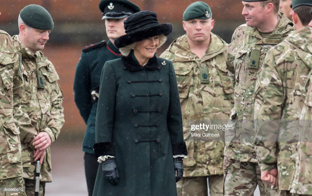 camilla-duchess-of-cornwall-visits-the-4th-battalion-the-rifles-on-picture-id645860510