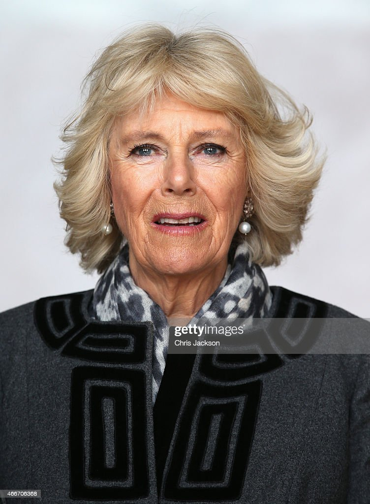 Camilla, Duchess of Cornwall visits the Lincoln Memorial on the second day of a visit to the United States on March 18, 2015 in Washington, DC. The Prince and Duchess are in Washington as part of a Four day visit to the United States.