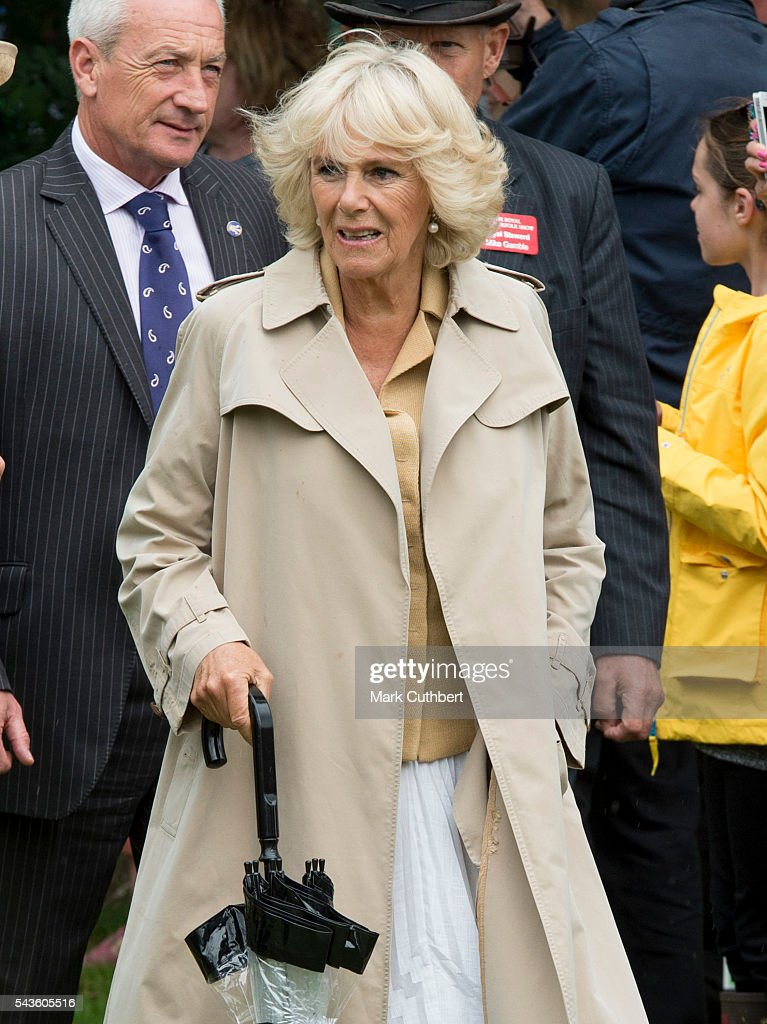 Camilla, Duchess of Cornwall visits The Royal Norfolk Show at Norfolk Showground on June 29, 2016 in Norwich, England.