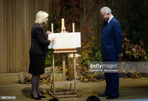 Camilla Duchess of Cornwall visits Worcester College Oxford with His Royal Highness Sultan Nazrin Shah of Perak Malaysia at Worcester College Oxford...