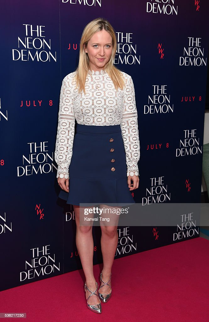 Camilla Elphick arrives for the UK Premiere of The Neon Demon at the Picturehouse Central on May 31 2016 in London United Kingdom