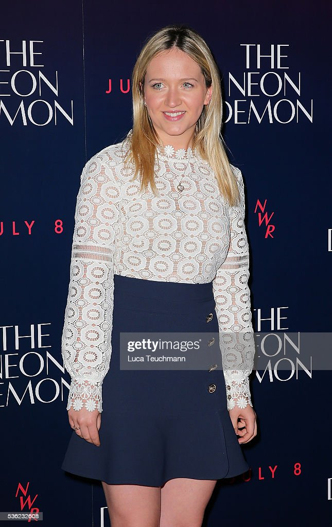 Camilla Elphick arrives for the UK Premiere of The Neon Demon on May 31 2016 in London United Kingdom