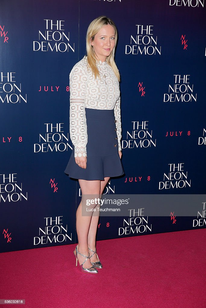 Camilla Elphick arrives for the UK Premiere of The Neon Demon on May 31, 2016 in London, United Kingdom.